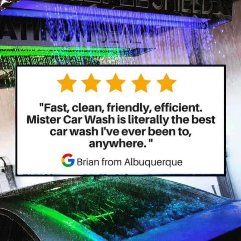 Mister Car Wash Reviews