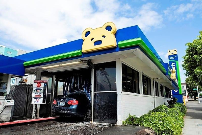 Brown Bear Tunnel Car Washes