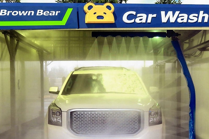 Brown Bear Touchless Car Wash