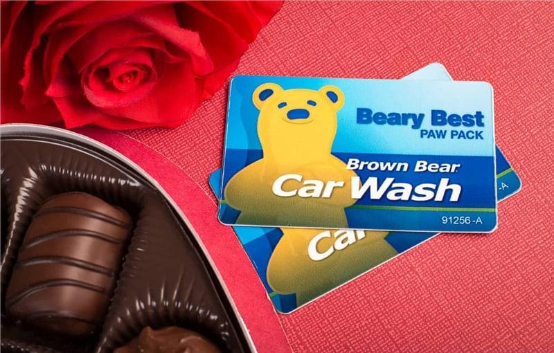Brown Bear Car Wash Gift Cards