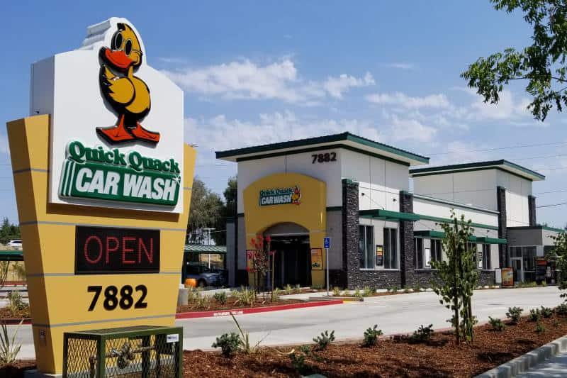Quick Quack Car Wash Hours Near me Locations
