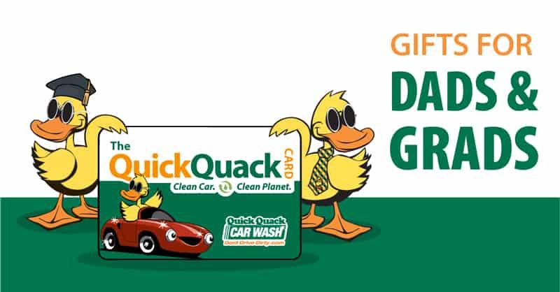 Quick Quack Car Wash Gift Cards
