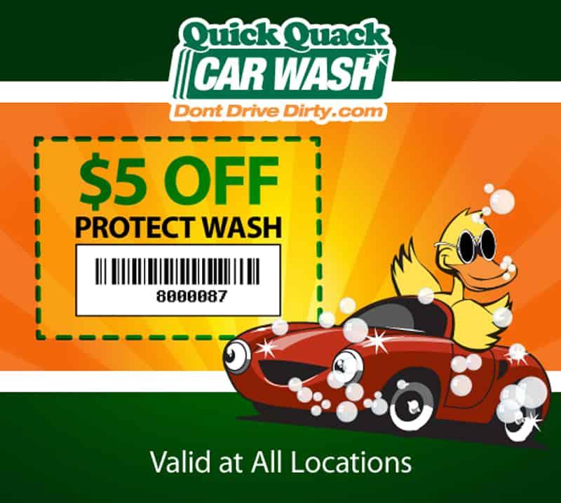 Quick Quack Car Wash Coupons & Deals