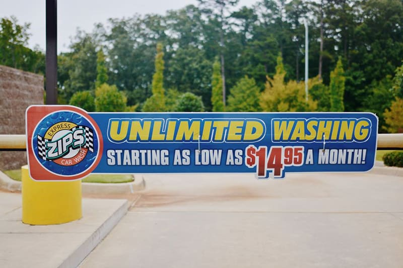 Zips Unlimited Car Wash Club & Prices