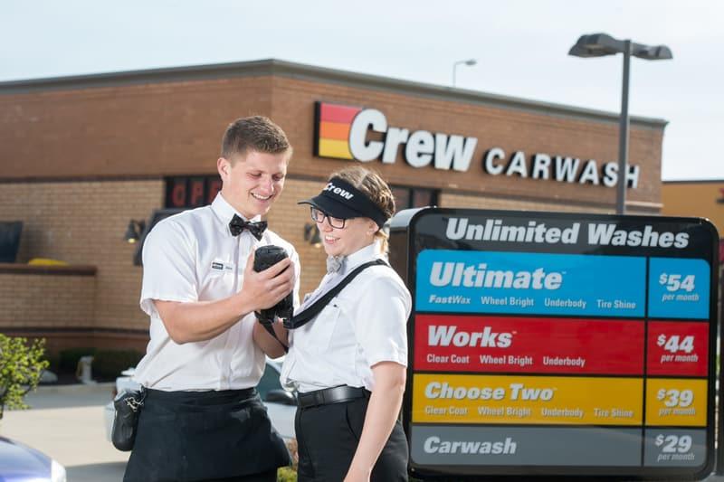 Crew Carwash Prices