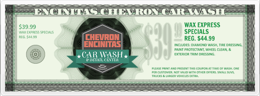 Chevron Car Wash Coupons