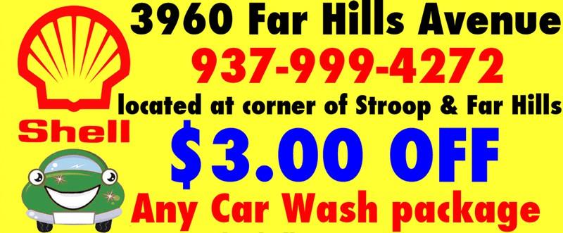 Shell Car Wash Coupons