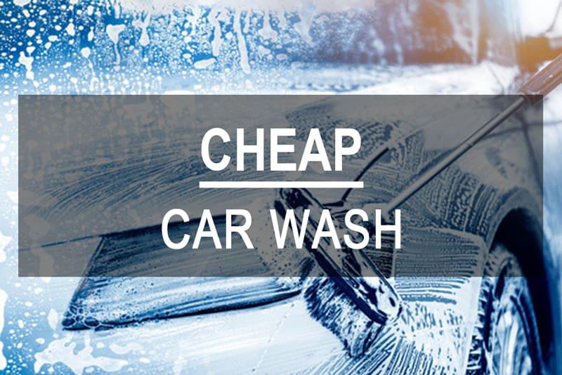 Cheap Car Wash