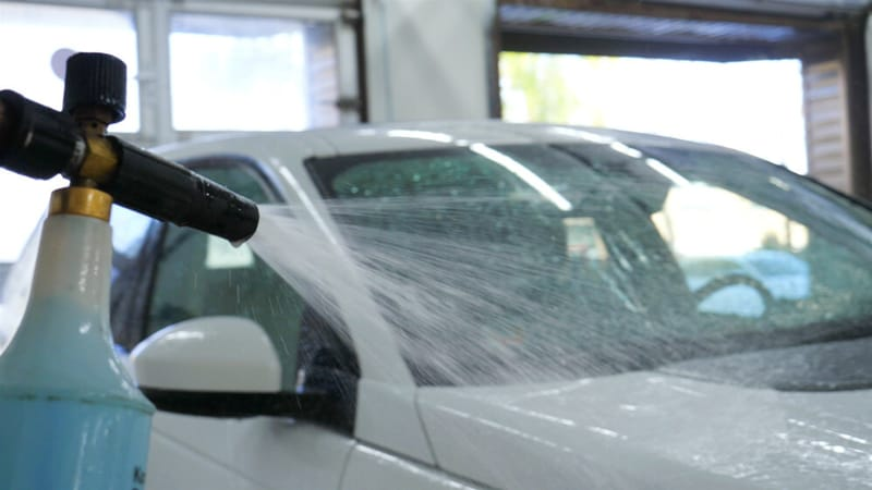 Foam Gun Car Wash