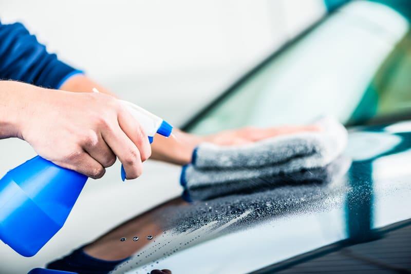 Waterless Car Wash Spray