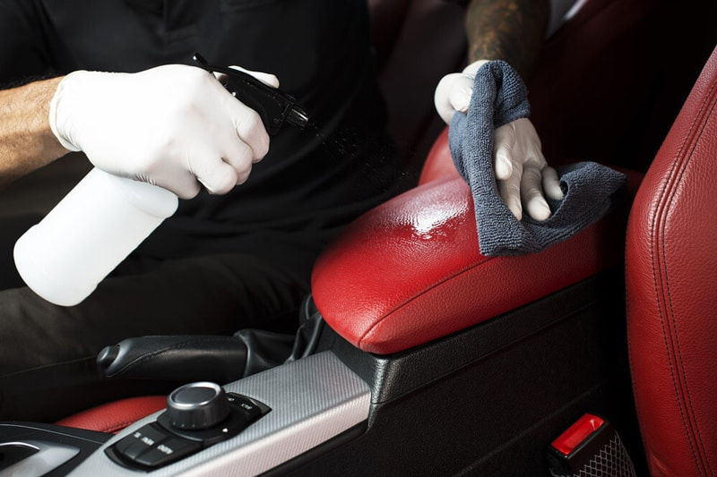 How To Clean Car Interior - Clean Leather and Vinyl