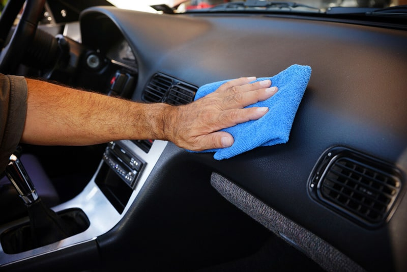 How To Clean Car Interior - Clean Hard Surfaces