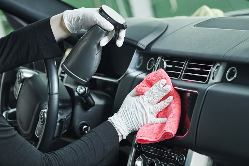 How To Clean Car Interior - Clean Touch Screens