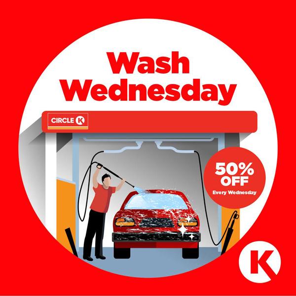 circle k car wash promo code